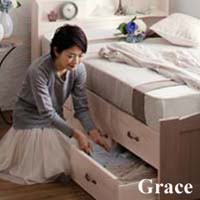 セミシングル収納ベッド