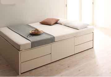 ショートサイズ収納ベッド