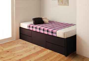 セミシングルベッドの配置
