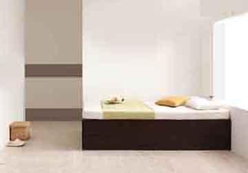 ワンルーム収納ベッドの配置
