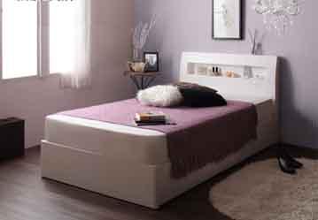 セミシングルベッドの配置高窓の場合