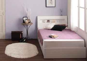 シングルベッドの配置