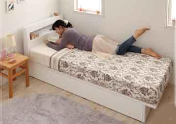 ワンルームにシングルベッドを配置