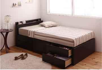 ショート収納ベッドの位置と配置
