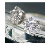 激安、普段使いのダイヤモンドピアス