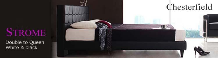 クイーンとキングサイズベッド