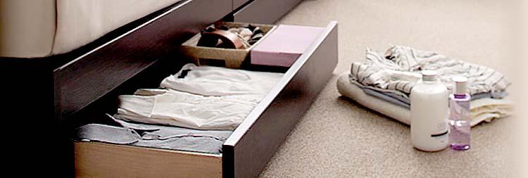 収納ベッドダブルサイズ