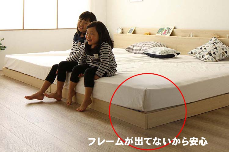 自信作の連結ベッド200ワイド
