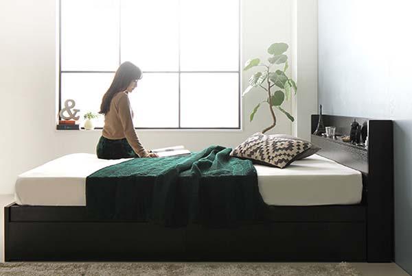 収納ベッドシングルが安い